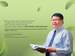 Dr. Raymond Tjandrawinata: Tingkatkan Imunitas dengan Imunomodulator Obat Modern Asli Indonesia