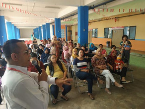 Penyuluhan Kesehatan dan Sosialisasi Aplikasi Teman Bumil bagi Warga Rusunawa Pulo Gebang