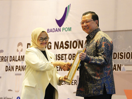 Obat Modern Asli Indonesia Redacid, Menerima NIE Fitofarmaka