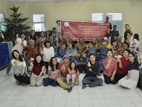 Dexan Palembang Berbagi Kasih di Panti Werdha