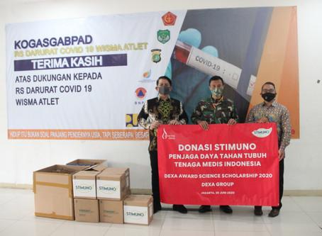 Dexa Group Serahkan Donasi Obat Untuk Tenaga Medis RSD Wisma Atlet Jakarta