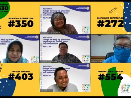 Universitas Airlangga: Pengembangan Obat Modern Asli Indonesia
