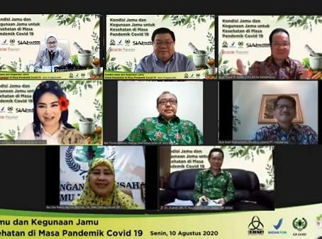 Diskusi Manfaat Herbal untuk Kesehatan di Masa Pandemi Covid-19