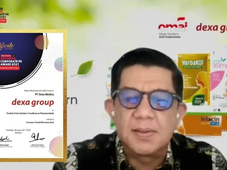 Dexa Group Raih Indonesia Public Relations Award 2021