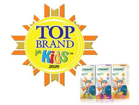 Berhasil Pertahankan 10 Tahun Top Brand, STIMUNO Kembali Raih Top Brand 2020