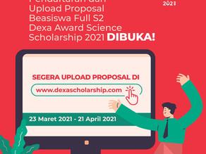 Dexa Award Science Scholarship 2021: Indonesia Butuh Banyak Peneliti Kesehatan