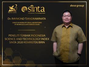 Executive Director DLBS Dr. Raymond R. Tjandrawinata Masuk dalam Daftar Peneliti Terbaik SINTA 2020