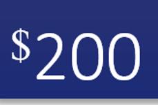 $200 Campaign Contribution