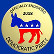 Officially endorsed by the Democratic Pa
