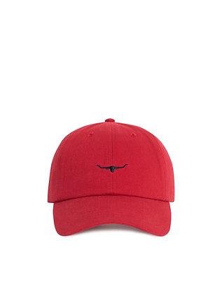 Mini Longhorn Cap (Red/Navy)