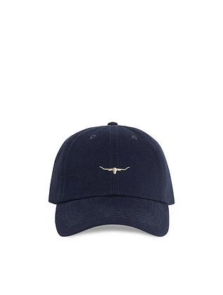 Mini Longhorn Cap (Navy/Bone)