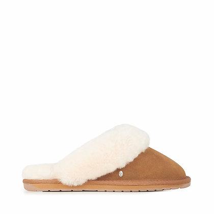 Jolie - Sheepskin Slippers (Chestnut)