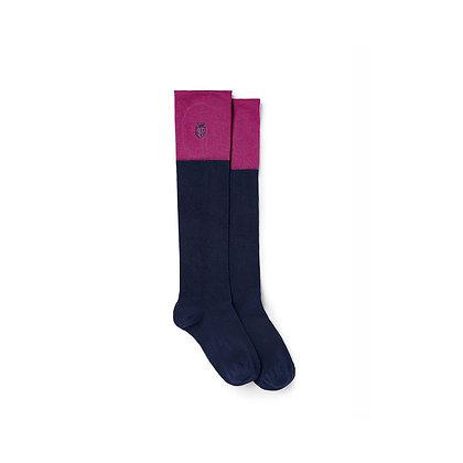 Signature Ladies Knee High Socks (Fuchsia)