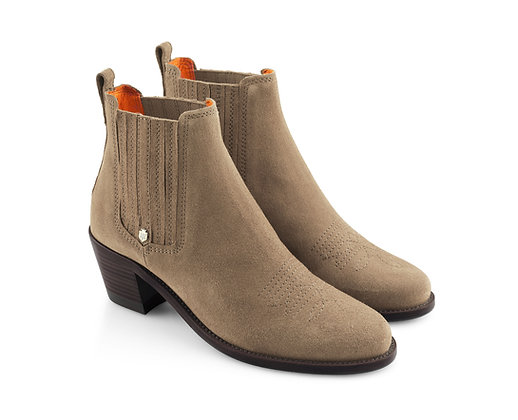 The Rockingham Ankle (Taupe)