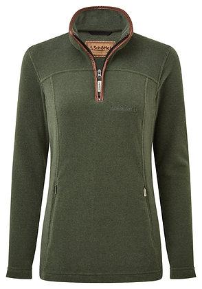 Tilton ¼ Zip Fleece (Cedar Green)
