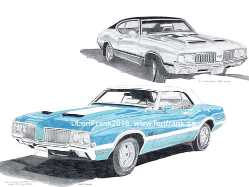 2 - 1970 Olds 442's