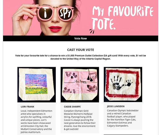Vote for your tote