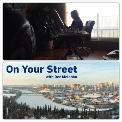 In the Winter of 2014 Dez Melenka from CTV Edmonton came to my home studio to interview me as a featured artist for her segment On Your Street.