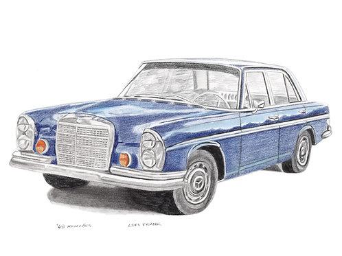 '68 Mercedes
