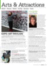 Lori Frak Artist feature in Where Magazine
