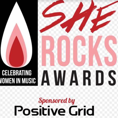 She Rocks Awards on January 22nd