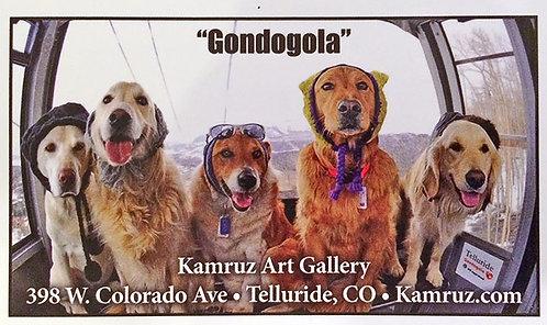 Gondogola Sticker