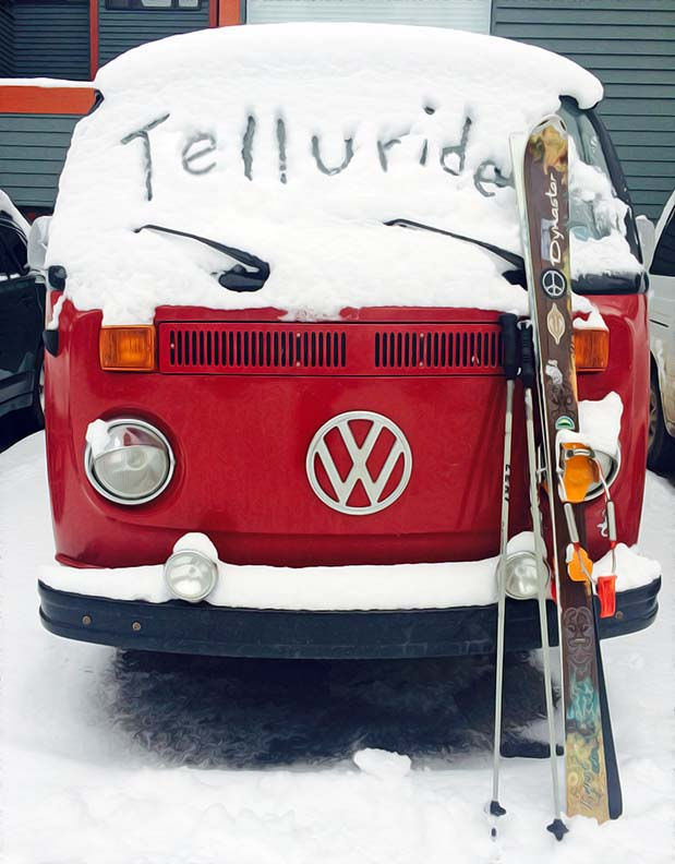 Gone Skiing, Telluride