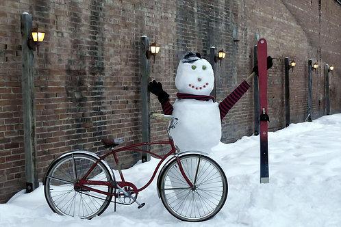 Snowman Bike