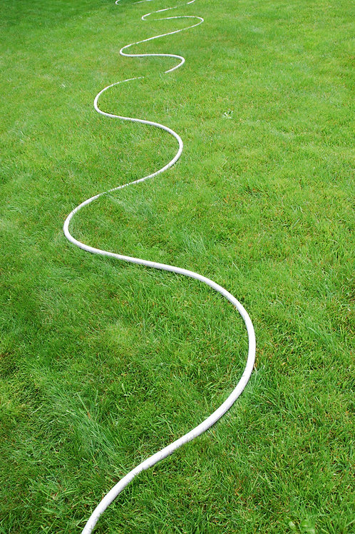Hose on Grass
