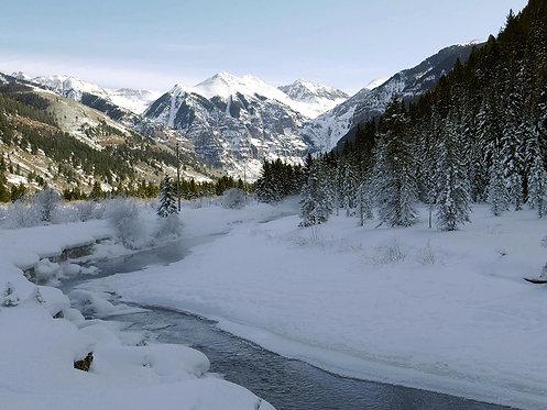 Valley Floor Frost
