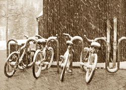 Bikes and Skis