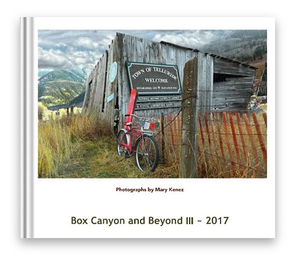Box Canyon and Beyond- 2017, Soft Cover