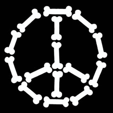 Peace Bones® Sticker