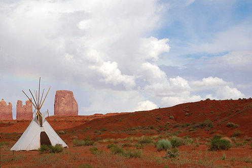 Monument Valley Teepee