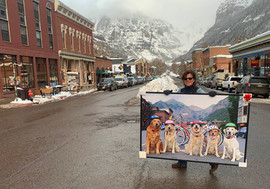 RUFF Riders, Mary Kenez, Gondogola, Telluride Photographer
