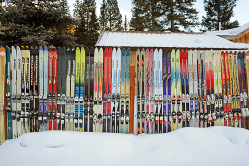 Priest Lake Ski Fence, Telluride