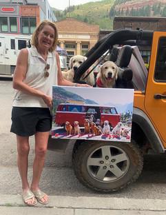 Dog Days of Summer, Kamruz Gallery, Gondogola, Telluride Photographer