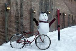 Rustic Snowman