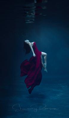 Underwater Portrait Photographer Texas