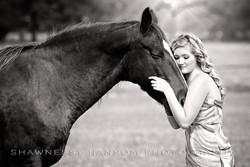Senior Portraits with Horse Dallas