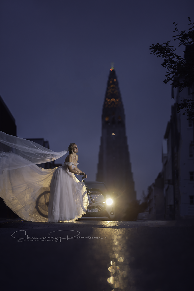 Destination Bridal Portraits Iceland
