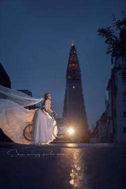 Destination Bridal Portraits Iceland