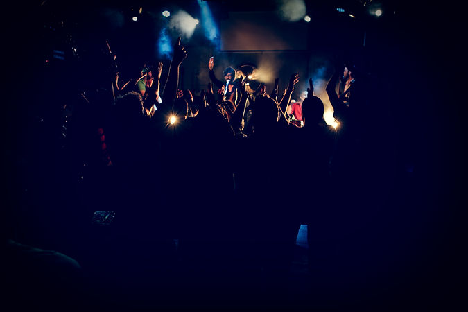 We organise music events