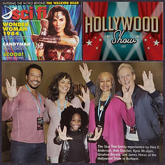 Star Trek at The Hollywood Show featured in Sci Fi Magazine 2020