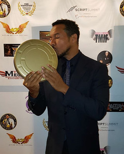 I won!! Best Actor in a supporting role