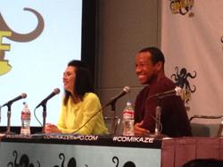 Star Trek Renegades panel