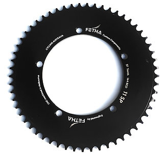 """Track Chainring (5 Bolt) 144 BCD    3/32"""" Chain  Sizes 48T-58T"""