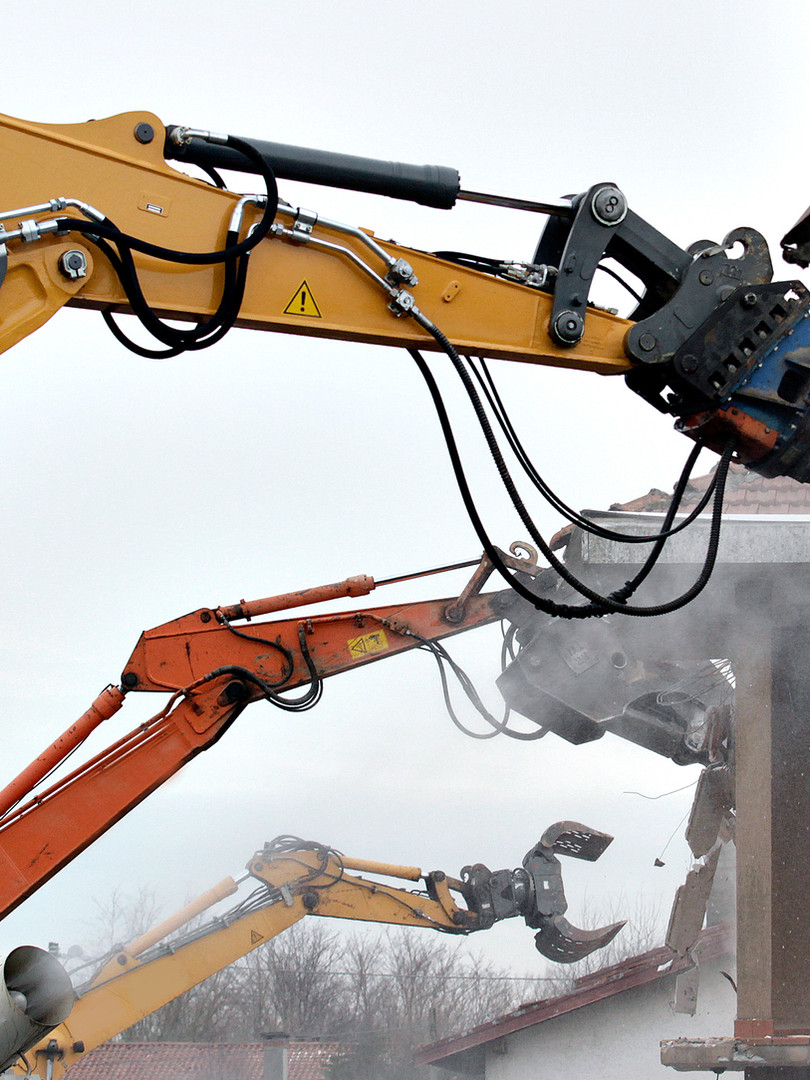 Demolition Contractor in Rothehram