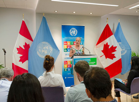 UNA-Canada Launches Science Horizons Program with Minister for Environment and Climate Change