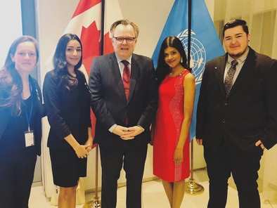 UNA-Canada Youth Delegation at the 63rd Commission on the Status of Women in New York